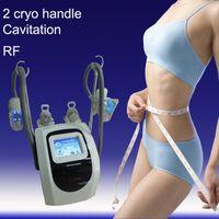 Wholesale 4in1 Ultrasonic cavitation RF weight fat loss machine cryolipolysis fat freeze equipment cryo handle