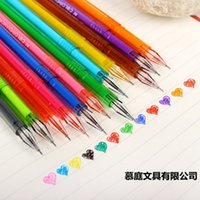 Wholesale 12color diamond Gel pen Cute pen Stationery Novelty gift Caneta papelaria Office material escolar school supplies