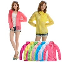 Wholesale Cheap outdoor section unisex skin coat fast drying ultra thin transparent sun protection clothing skin coat