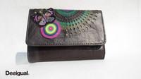 Wholesale New fashion Femmes sacs lady long purse clutch Desigual Women s PU wallet