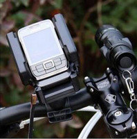 Wholesale Bicycle Phone Holder Degree Rotation Mobile Phone MP3 GPS Cell Phone Holder Convenient And Practical Mobile Phone Touch Phone Holder