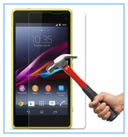 Wholesale 1PC For Sony Xperia Z2 Premium Tempered Glass Film Screen Protector D H For Sony Xperia Z2