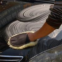 Wholesale 2015 New Delicate Best Super Soft Car Wash Mitt Deep Pile Car Cleaning Glove Wash Supplies Tool BZ872468
