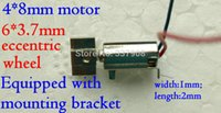 Wholesale 5pcs MM V Ultra Micro Wired Vibration Motor With mm Great Vibration Head and Mounting Bracket