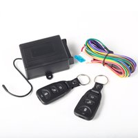 automobile door locks - Car Lock Locking Keyless Universal Automobiles Remote Central Door Lock Keyless Entry System With Remote Controllers