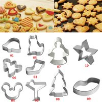 alloy cookies - New Arrivals Baking Moulds Cookies Pastry Cake Fondant Decorating Cutters Tool Aluminum Alloy JA2