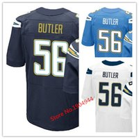 baby butler - Factory Outlet Men s Donald Butler Jersey Elite Navy Baby Blue White Stitched Name And Number