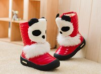 Wholesale Hot sales Children s Boot winter snow boots with new girl children Terry Cotton Baby warm snow boots