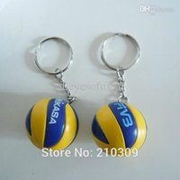beach volleyball tops - M I K A S A Top beach volleyball PVC cm keychain key ring business gifts color