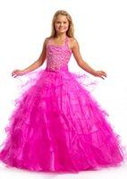 Cheap Girl's Pageant Dresses Best flower girl dress