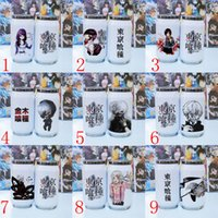 Wholesale Tokyo Ghouls vacuum cup Stainless steel cup Christmas Creative cans Cartoon cup cosplay