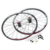 Wholesale 26 H Bicycle Wheel Durable Disc Brake Bike Wheel MTB Mountain Bicycle Bike Wheelset Hubs Rim Front Rear Bike Parts Set