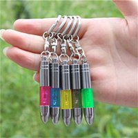Wholesale 2015 Universal car static eliminator bars in addition to static portable Dynamic Anti static key chain for car Mixed Color
