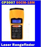Wholesale NEW CP3007 Laser Rangefinder Ultrasonic Infrared Range Finder Distance Measurer new top sale