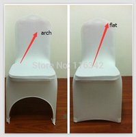 Wholesale 2015 Big Sales Promotion banquet chair covers spandex chair cover for weddings