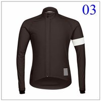 Wholesale Rapha Cycling tops winter fleece red blue brown cycling Jersey long sleeves cycling jersey tops XS XL size keep warm