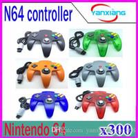 Precio de Pc shock del sistema-Nuevo controlador de manija de mando de joystick sistema de juego para Nintendo 64 N64 200 PC ZY-PS-05