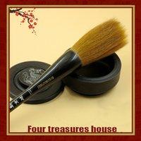 beijing hair - Larger Regular Script Pure grasp Weasel Hair Beijing brushes manufacturers sale large calligraphy brush quality pen LangHao