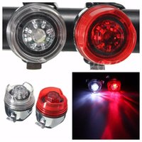 Wholesale Waterproof Modes Bike Bicycle Rear LED Tail Light Flash Lamp Torch Battery