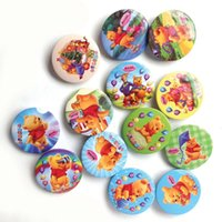 Wholesale 2016 New cm Cartoon Badges Tin Pin Plastic Badges Tinplate Plastic Badge Factory
