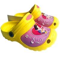 garden clogs shoes - Kids Snow White Garden Shoes Children Flip Flops Sandals EVA Clog Shoes Baby Girls Princess Slippers