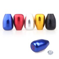 Wholesale M16 Original Speed Car Shift Gear Knob Head Aluminum Alloy for Honda Civic Golden Silver Black Red Blue