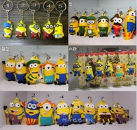 cheap gifts for women - 2015 Hot Popular Despicable Me Yellow Minions Keychains Cheap In Stock Cute Figures Gifts for Children Fashion Accessories Minion