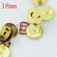 Wholesale Sets Gold Buttons Magnetic Purse Snap Clasps Closure for Purse Handbag mm D2749