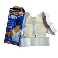 Cheap Power Magnetic Posture Support Corrector Therapy Back Pain Feel Belt Brace Shoulder Body Sculpting Slimming Adjustable