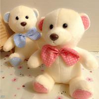 ai toys - Genuine hug teddy bear urso de pelucia plush toys Children Ai Taidi Scarf Scarf Bear Teddy Bear Gift Plush dolls Brinquedos