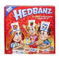 Wholesale Hot Toys Funny Hedbanz Games Puzzle game New Design board game hedbanz game childen game Family Game of Suspense