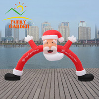archway door - m ft Christmas Inflatable Santa Archway Arched Door Blow up Decoration IN STOCK
