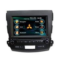 Wholesale OEM for MITSUBISHI OUTLANDER In Dash car radio GPS navigation free map car DVD player Ipod bluetooth Digital TV rear camera