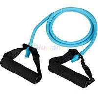 Wholesale 1PC New Resistance Bands Tube Workout Exercise for Yoga Type YB NY9