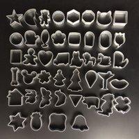 apple shaped cakes - Cute cartoon apple Shape Cookie Frame Cake Aluminum Alloy Mold DIY Cooking Metal Cutter designs