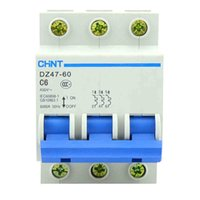 Wholesale DZ47 P C6 mini miniature circuit breakers for household protection breaker switch chopper
