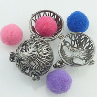 Wholesale Plant Tree Of Life Locket Fragrance Perfume Aromatherapy Essential Oil Diffuser