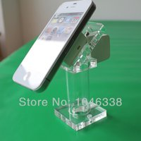 Wholesale Cell Mobile Phone Anti theft Display Stand Mechanical Security for mobilephone store Display