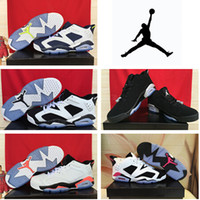 Wholesale NIKE dan Low Infrared GS Cheap Mens Basketball Shoes Retro Low White Infrared s All Size