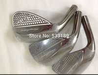 Wholesale Golf left hand wedge with shaft the grip