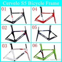 Wholesale S5 New Arrival Carbon Bike Frame Real Carbon Fibre Road Cycling Bicycle Frame UD Weave With BB Right Bottom Bracket Gloosy Matte Bike Frame
