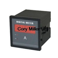 AC 500V 5A Красный светодиодный дисплей панели усилителя Combo метр порядка $ 18no трек