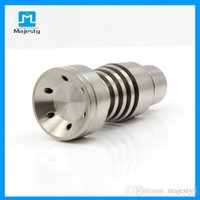 Wholesale 2015 Hot and New titanium domeless nail gr2 mm for Glass Pipe Smoking