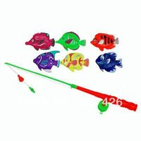 Wholesale Fishing game toy set