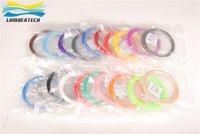 Wholesale ABS D Printer Filament Printer Wire Plastic Filament mm Clolors x M Color ABS Material Pen Filament Pen Suitable For D Printer Pen
