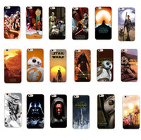 Wholesale For iphone case Star Wars The Force Awakens character cases star war Darth vader BB stormtrooper TPU cover for iphone s s plus