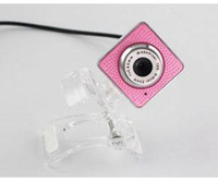 Wholesale High Quality MP Cute Pink Computer Laptop Webcam Video Camera For Sale Brand New Mini Pink USB Webcams With Low Price