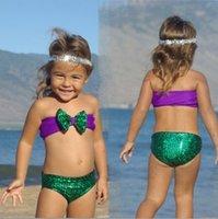 baby swimwear - Hug Me New Korean Baby Girls Bikini Kids Girl Swimwear Baby Swimsuit Ruffle Bow Princess Three Pieces Swim Cute Clothing BB