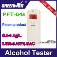 alcohol suppliers - Hot professional supplier abs material mini keychain breathalyzer breath alcohol analyzer low price alkohol tester promotion5pcs