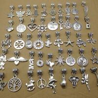 Wholesale 100 styles pandora pendant charms good for your DIY bracelet necklace etc pack of
